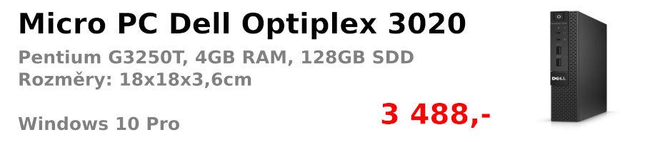 Dell Optiplex 3020 MicroPC