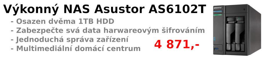 NAS úložiště Asustor AS6102T
