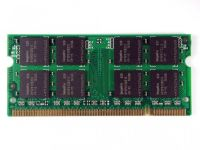 Operační paměť 512MB DDR2 SODIMM pro notebooky, různí výrobci SKOM89