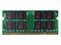 Operační paměť 1GB DDR2 SODIMM pro notebooky, různí výrobci SKOM90