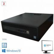 PC HP EliteDesk 800 G2 SFF + HP LA1956x CC948136