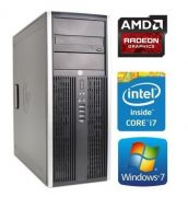 HP Elite 8100 Tower + AMD R7 240 2GB-IB00850