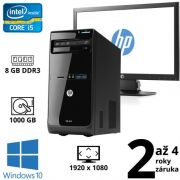 "HP Pro 3500 MT i5 2400, 8GB, 1TB, DVD RW, W10 + 22"" Full HD HP ProDisplay P221"
