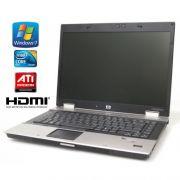 HP EliteBook 8530p C2D, 4GB RAM, Nový 120GB SSD, AMD Radeon, W7P, Nová Baterie + DOCK 8530p P8600 4G 120ssd 1280 W7