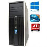 HP Compaq Elite 8200 CMT, i5 2500 3.30GHz, 4GB, 500GB HDD, AMD Radeon HD 6450, Windows 10 PC/HP8200/i5 2500 4G 500 w10