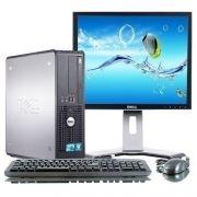 "PC sestava s 19"" LCD monitorem Dell OptiPlex 780 SFF Intel Core2Duo 3 GHz / 4 GB RAM / 160 GB HDD / DVD / Windows 7 Professional 1791sc 26"