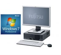 PC FUJITSU Esprimo E910 + LCD 22&quot   Core i5/3,2 GHz, 8GB RAM, 500GB HD, DVDRW, COA Windows 7 Pro - Desktop repase