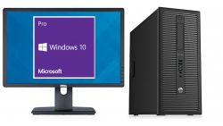 HP Elitedesk 800G1 + LCD 22 DELL! Core i5 34 GHz 4GB RAM 500GB HD MiniTower + LCD 22 DELL repase