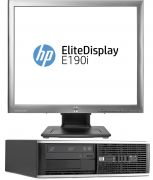 "HP Compaq 8300 + LCD 19"" IPS Core i5 / 3,2 GHz, 4GB RAM, 250GB HD, DVD, Windows 7 Pro CZ Desktop repase"