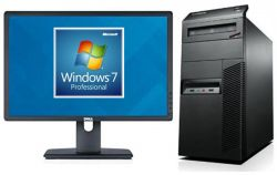 PC Lenovo M92p+ LCD 22 DELL Intel Core i5 3.4 GHz 4GB RAM 500 GB HD bez mechaniky Windows 7 Pro CZ + LCD 22 DELL Tower repase