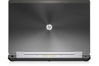 HP Elitebook 8570w rozevřený zezadu
