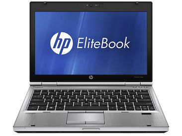 HP EliteBook 2560p čelní pohled