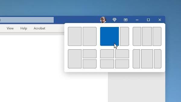 Windows 11 zarovnání oken